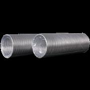 Воздуховод гибкий (12BA) алюминиевый гофрированный, L до 3м
