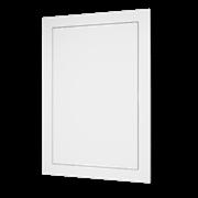 Люк-дверца ревизионный (AD1515), пластиковый, нажимной 168х168 мм с фланцем 146х146 мм