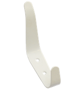 Крючок-вешалка № 6 с полимерным покрытием