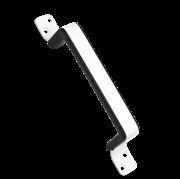 Ручка дверная с пластиковой вставкой 100мм, с полимерным покрытием (шт.)