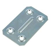 Пластина крепежная ПК40 х 67 х 1,2 мм, оцинкованная (шт.)