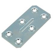 Пластина крепежная ПК40 х 86 х 1,2 мм, оцинкованная (шт.)