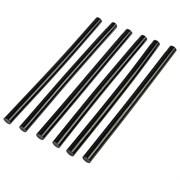 Стержни клеевые, чёрные, 11x200 мм, 6 штук (уп.)