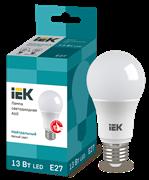 Лампа светодиодная A60 шар, 13Вт, 230В, 4000К, E27