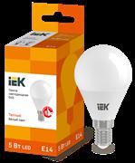 Лампа светодиодная G45 шар 5Вт 230В 3000К, E14