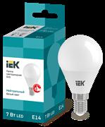 Лампа светодиодная G45 шар 7Вт 230В 4000К, E14