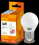 Лампа светодиодная G45 шар 7Вт 230В 3000К, E27