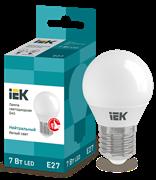 Лампа светодиодная G45 шар 7Вт 230В 4000К, E27