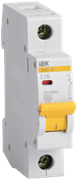 Автоматический выключатель MVA20-1-006-C,  ВА47-29, 1Р, 6А, 4,5кА, х-ка С