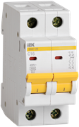 Автоматический выключатель MVA20-2-040-C,  ВА47-29, 2Р, 40А, 4,5кА, х-ка С
