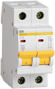 Автоматический выключатель MVA20-2-050-C,  ВА47-29, 2Р, 50А, 4,5кА, х-ка С