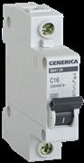 Автоматический выключатель GEN-1-032-C, ВА47-29, 1Р, 32А, 4,5кА, х-ка С