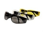 Очки защитные удар.проч. Поликарбонат открытого типа, желтые, (шт.)