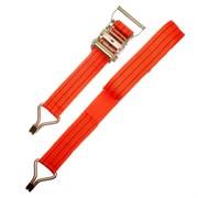 Ремень крепления груза с крюками, с храповым механизмом 135мм, 0,05 х 6м