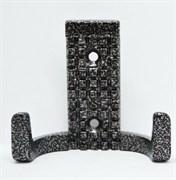 Крючок-вешалка №29 с полимерным покрытием, черная