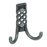 Крючок-вешалка №30 с полимерным покрытием, черная