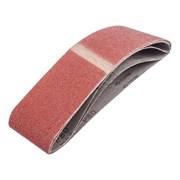Лента абразивная на тканевой основе Р80, 75 х 533 мм, 3 шт. (Hardaх) (уп.)