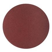 Круг абразивный на ворсовой основе, под липучку, Р80, 125 мм, 10шт. (Hardax) (уп.)