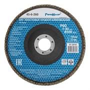 Круг лепестковый торцевой, 150 х 22 мм, Р60 (Hardax) (шт.)