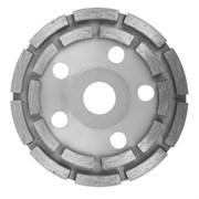 Круг алмазный, сегментный, чашечный, шлифовальный, двурядный, 125 мм