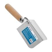 Мастерок нержавеющий, для внутренних  углов, 110 х 70 х 70 мм (Remocolor) (шт.)