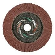 Круг лепестковый торцевой, 125 х 22 мм, Р80, №16 (шт.)