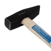 Молоток слесарный, деревянная рукоятка, 600 г