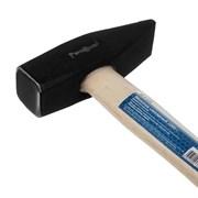 Молоток слесарный кованый, деревянная рукоятка, 1000 г