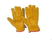 Перчатки спилковые утепленные искусственным мехом