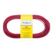 Трос металлополимерный красный ПР-3.0,  20м