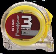 Рулетка Т3, прозрачный корпус из ABS-пластика, 3мх16мм