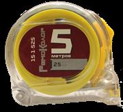 Рулетка Т3, прозрачный корпус из ABS-пластика, 5мх25мм