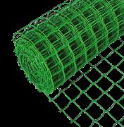Сетка садовая заборная, пластиковая, ячейка 15х15мм, высота 1м, длина 20м., (шт.)
