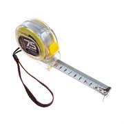 Рулетка измерительная Т3, прозрачный корпус из ABS-пластика, 7,5мх25мм