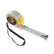 Рулетка измерительная Т3, прозрачный корпус из ABS-пластика, 5мх25мм