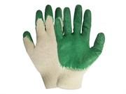 Перчатки трикотажные, латексное покрытие  (шт.)