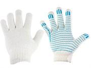 Перчатки Х\Б 10 класс вязки, 6-ти нитка, с ПВХ, (шт.)