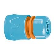 """Соединитель быстросъемный, с аквастопом, для шланга пластиковый, 1/2"""", (шт.)"""