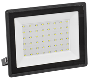 Прожектор светодиодный СДО 06-70, черный IP65 6500К