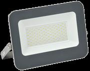 Прожектор светодиодный СДО 06-100, черный IP65 6500К
