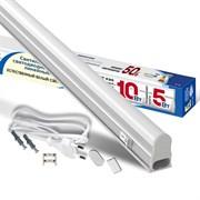 Светильник светодиодный линейный с выкл и шнуром, 5Вт, 4000К, IP40, 300 мм