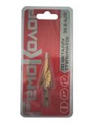 Сверло по металлу ступенчатое HSS для отверстий 4-20мм, 4-6-8-10-12-14-16-18-20мм, (шт.)