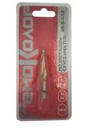 Сверло по металлу ступенчатое HSS для отверстий 4-12мм, 4-6-8-10-12мм, (шт.)