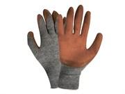 Перчатки трикотажные с рифленым латексом лайт