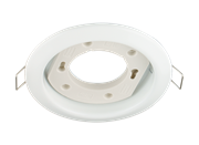 Светильник  точечный GХ53х12Вт, белый , d 106 мм, (шт.)