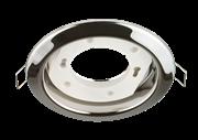 Светильник  точечный GХ53х12Вт, хром, d 106 мм, (шт.)
