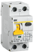 Автоматический выключатель дифференциального тока  АВДТ32 C16 , (шт.)