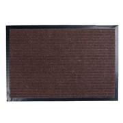Коврик придверной 3+2 ПВХ, полиэстер, коричневый, 60х90см