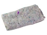 Салфетка для пола хлопковая, высокопрочная, серая, 600 х 800
