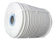 Фал плетеный капроновый, D8мм, L 100м, 16-прядный, 1000кгс, с сердечником